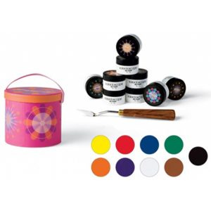 kaleidoscope nail kit